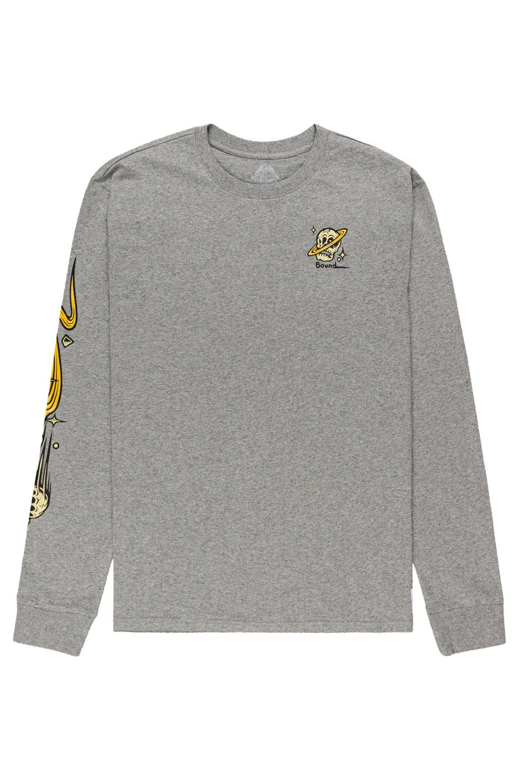 L-Sleeve Element TRANSENDER LS TIMBER COLLECTION Grey Heather