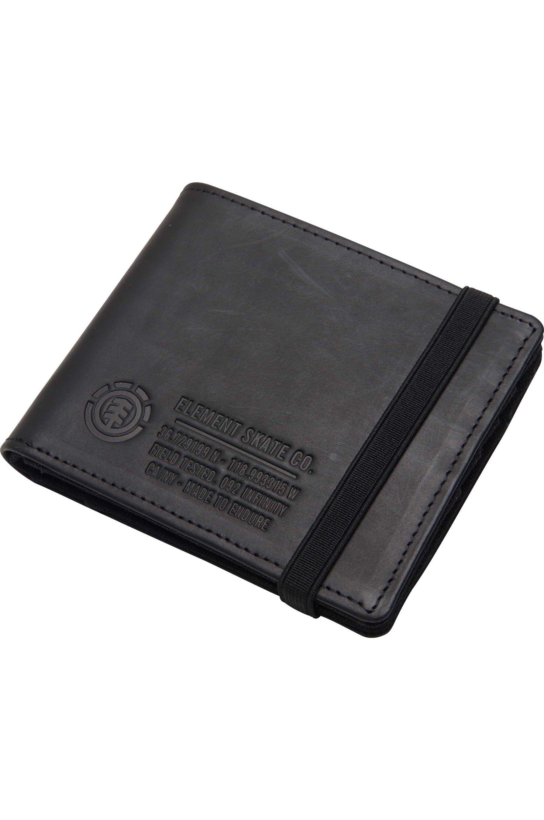 Carteira Pele Element ENDURE L. II Black