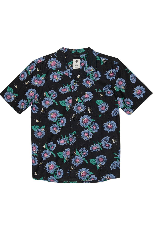 Element Shirt SUNFLOWERS SS Sunflowers Prin
