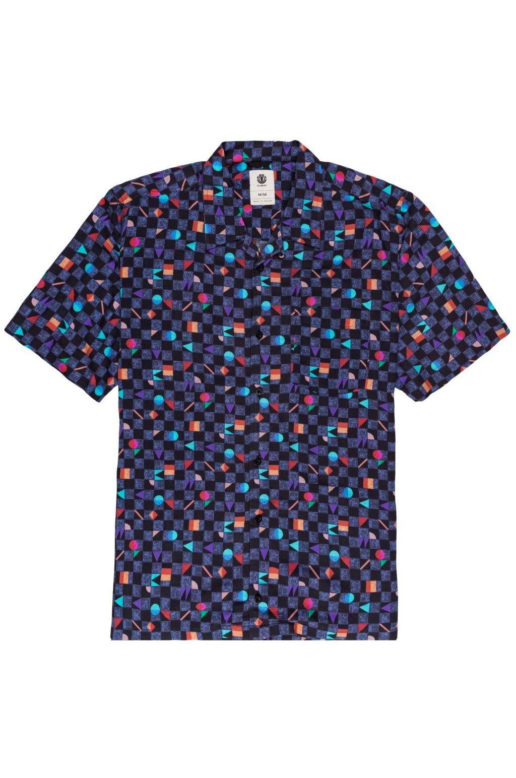Element Shirt OUTFUN SS Blue Prism