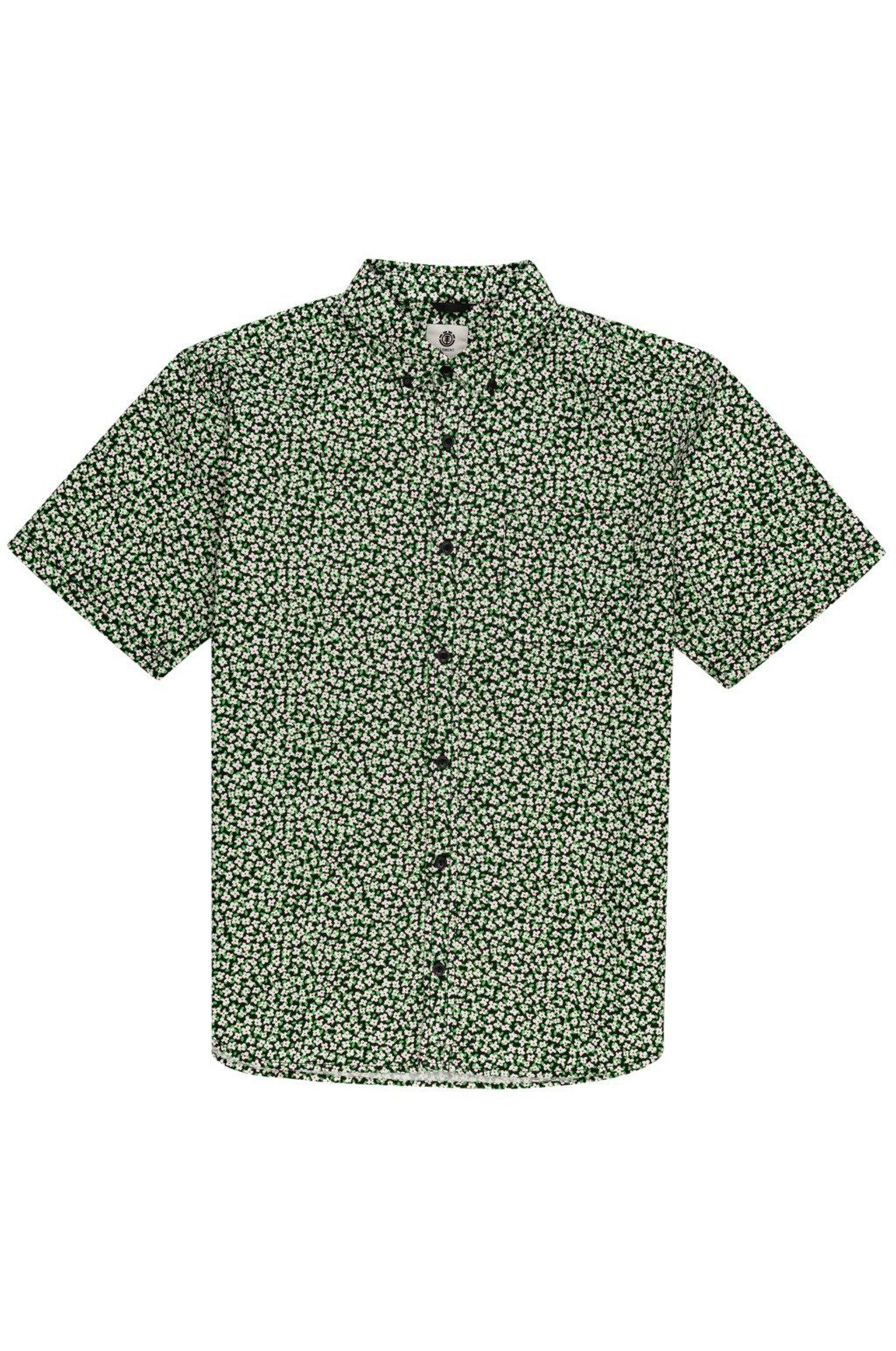 Element Shirt MEADOW SS White Wildflower