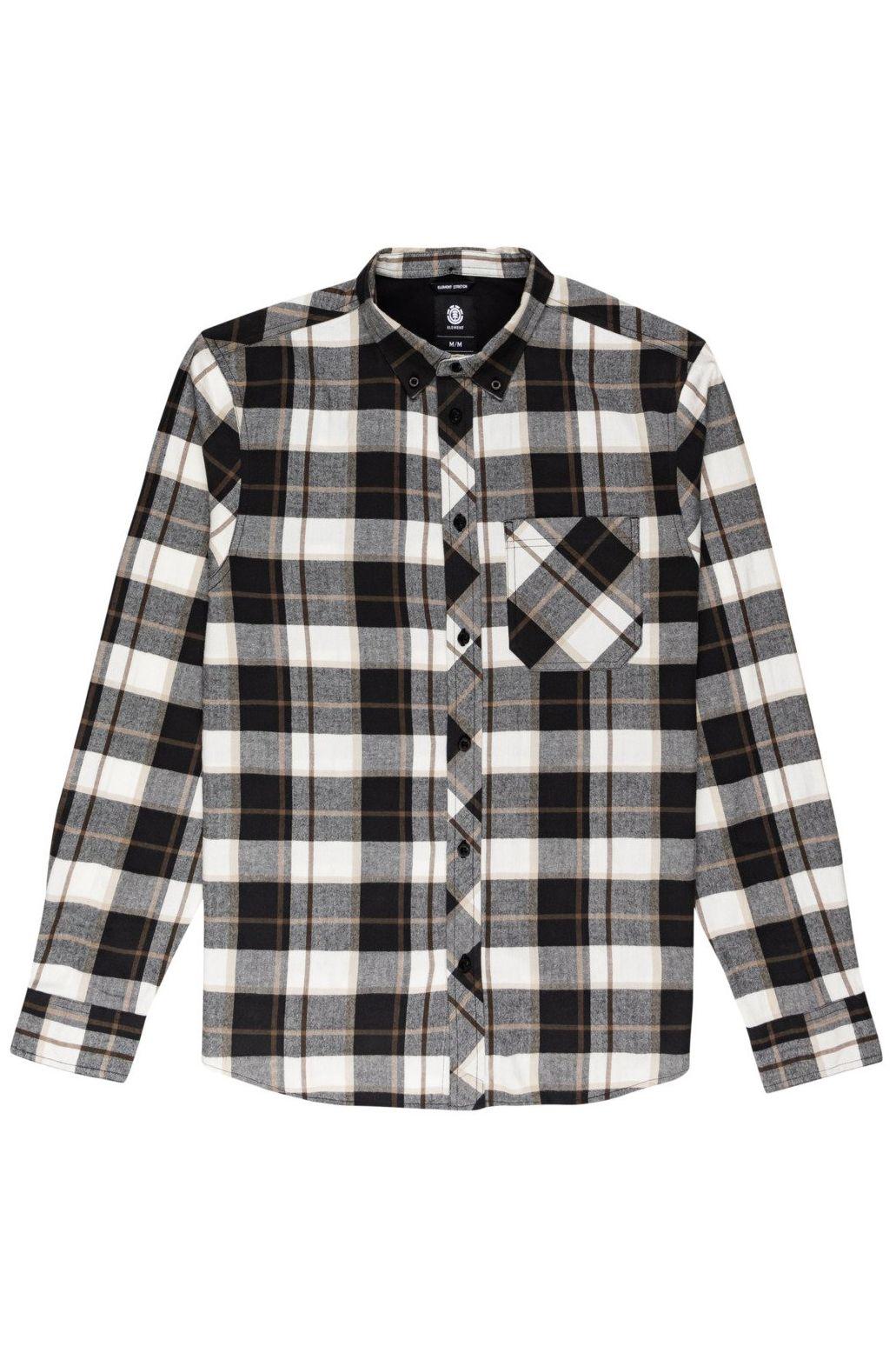 Element Shirt LUMBER Black