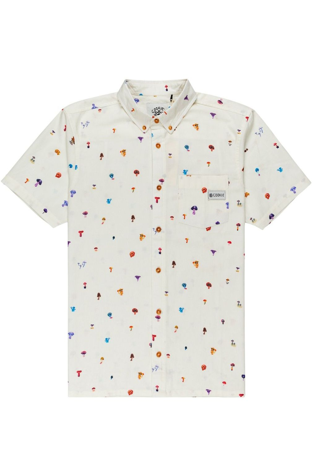 Element Shirt SHROOMS SKYWAY SS SHROOMS PACK Optic White