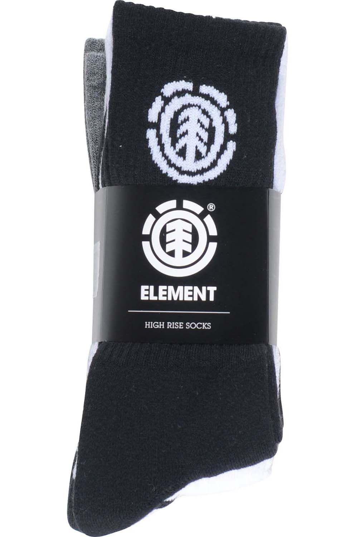 Meias Element HIGH-RISE SOCKS 5 P. Multico