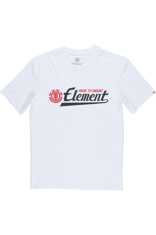T-Shirt Element SIGNATURE FOUNDATION Optic White