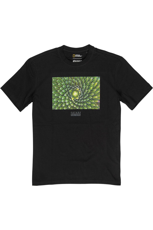 T-Shirt Element SPIRAL NATIONAL GEOGRAPHIC Flint Black