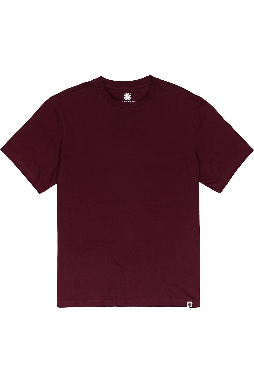 Element T-Shirt BASIC CREW SS Vintage Red