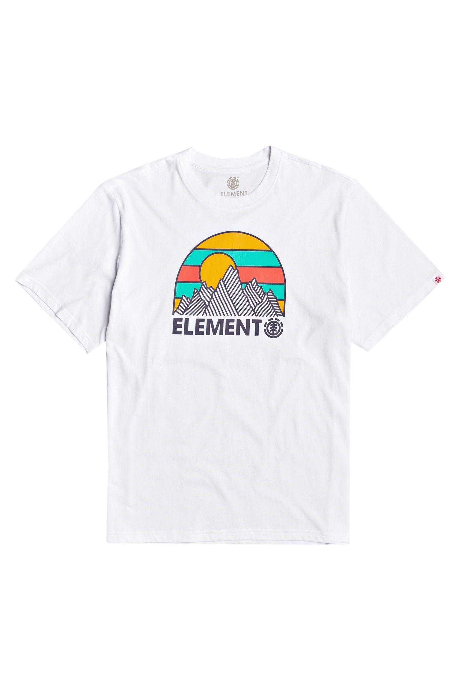 T-Shirt Element KOZY SPORTING GOOD PROGR. Optic White