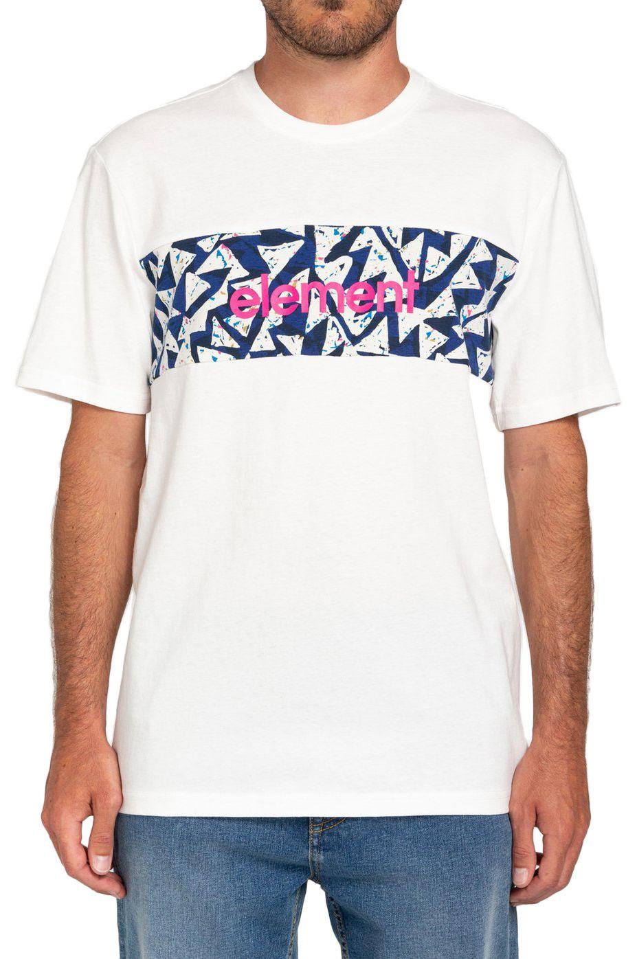 T-Shirt Element MASTER SS CR FUTURE NATURE Off White