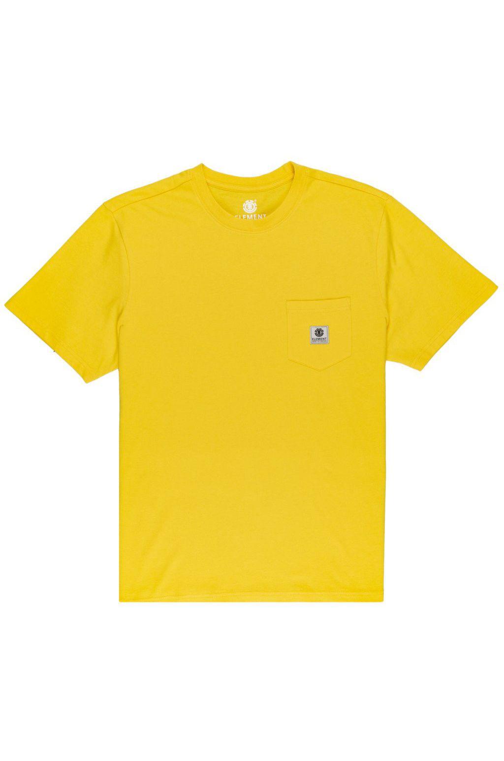 Element T-Shirt BASIC POCKET LABEL S Dandelion