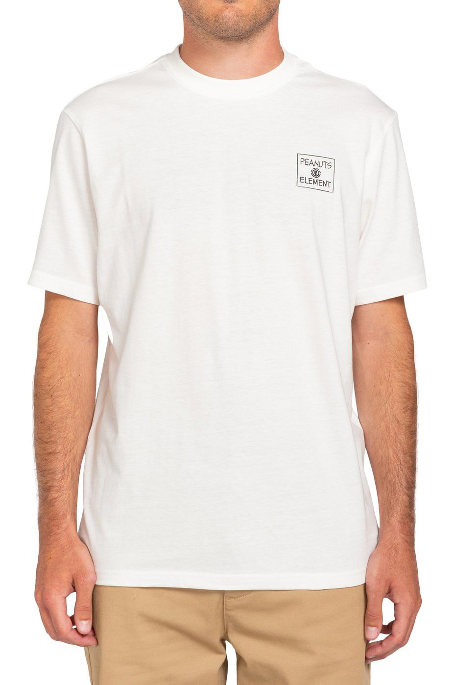Element T-Shirt PEANUTS PAGE SS PEANUTS Off White