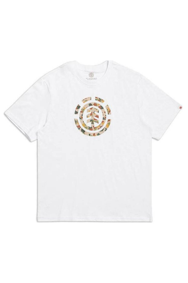 Element T-Shirt SAND CAMO ICON SS Optic White