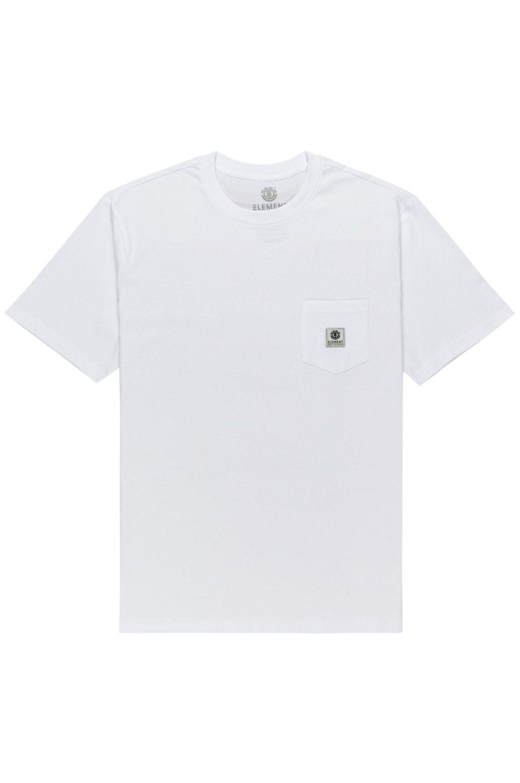 Element T-Shirt BASIC POCKET LABEL Optic White
