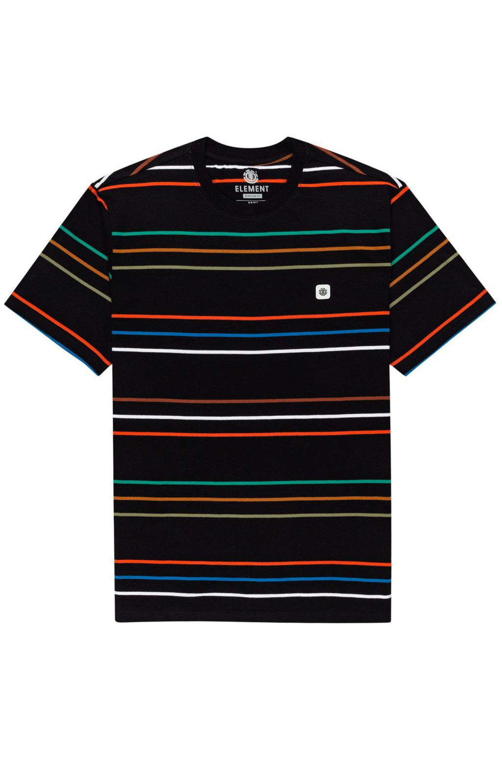 Element T-Shirt HOVDEN STRIPES SS Flint Black
