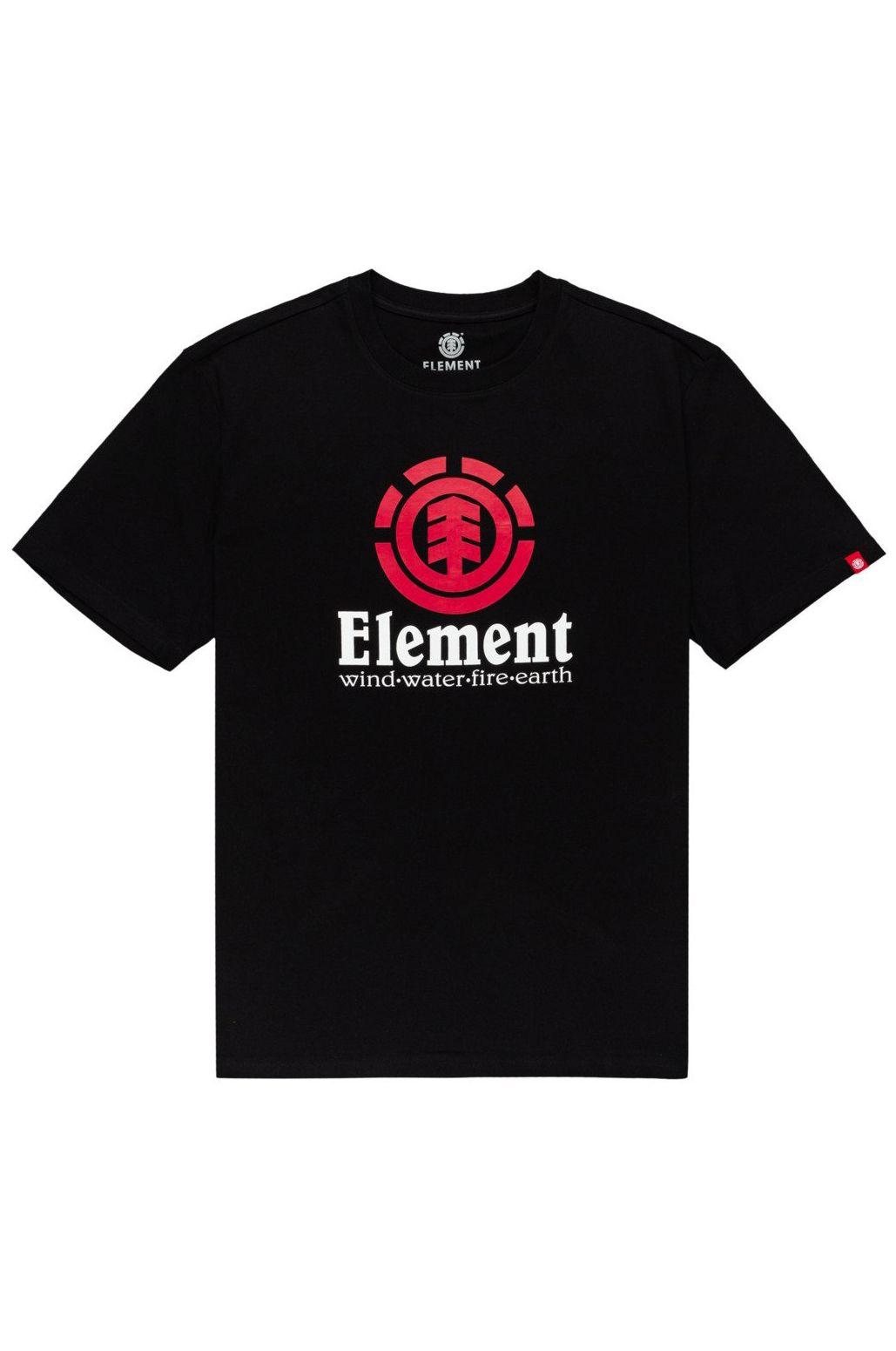Element T-Shirt VERTICAL Flint Black