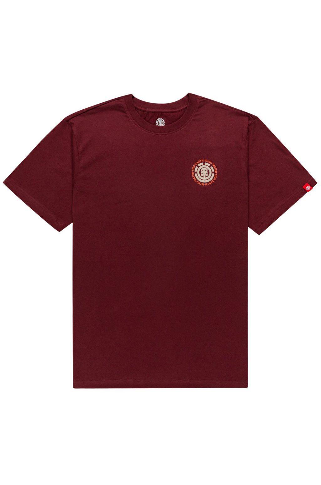 Element T-Shirt SEAL BP Vintage Red