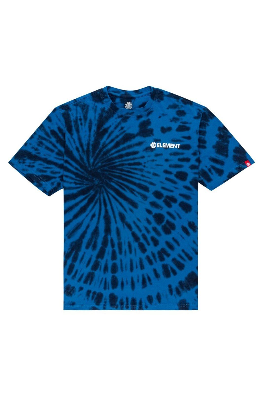 Element T-Shirt BLAZIN CHEST TIE DYE Deepwater