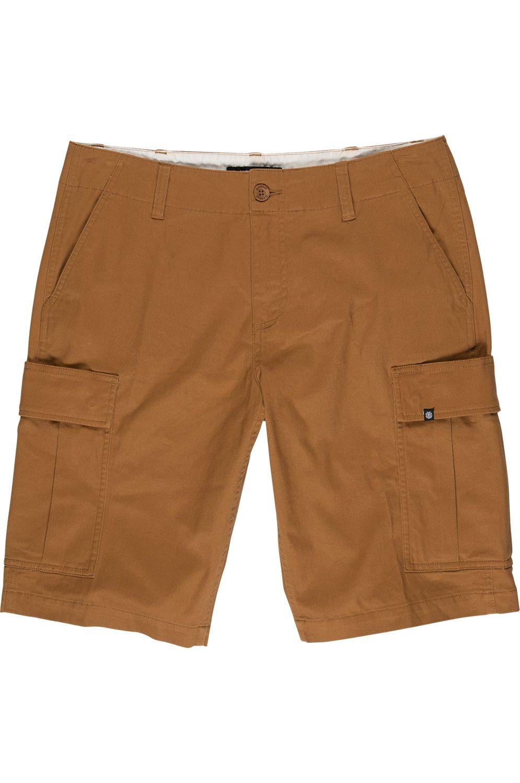 Element Walkshorts LEGION CARGO Bronco Brown