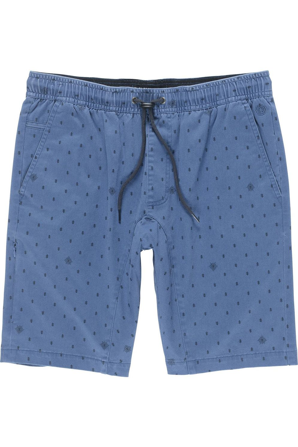 Walkshorts Element ALTONA PRINT SEASONAL COLLECTION Blue