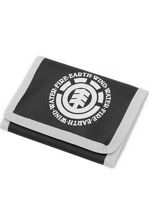 Carteira Element ELEMENTAL WALLET PAC Black White