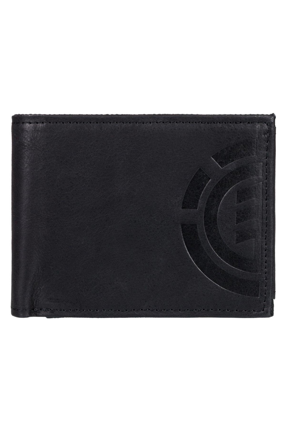 Element Leather Wallet DAILY ELITE WALLET Black