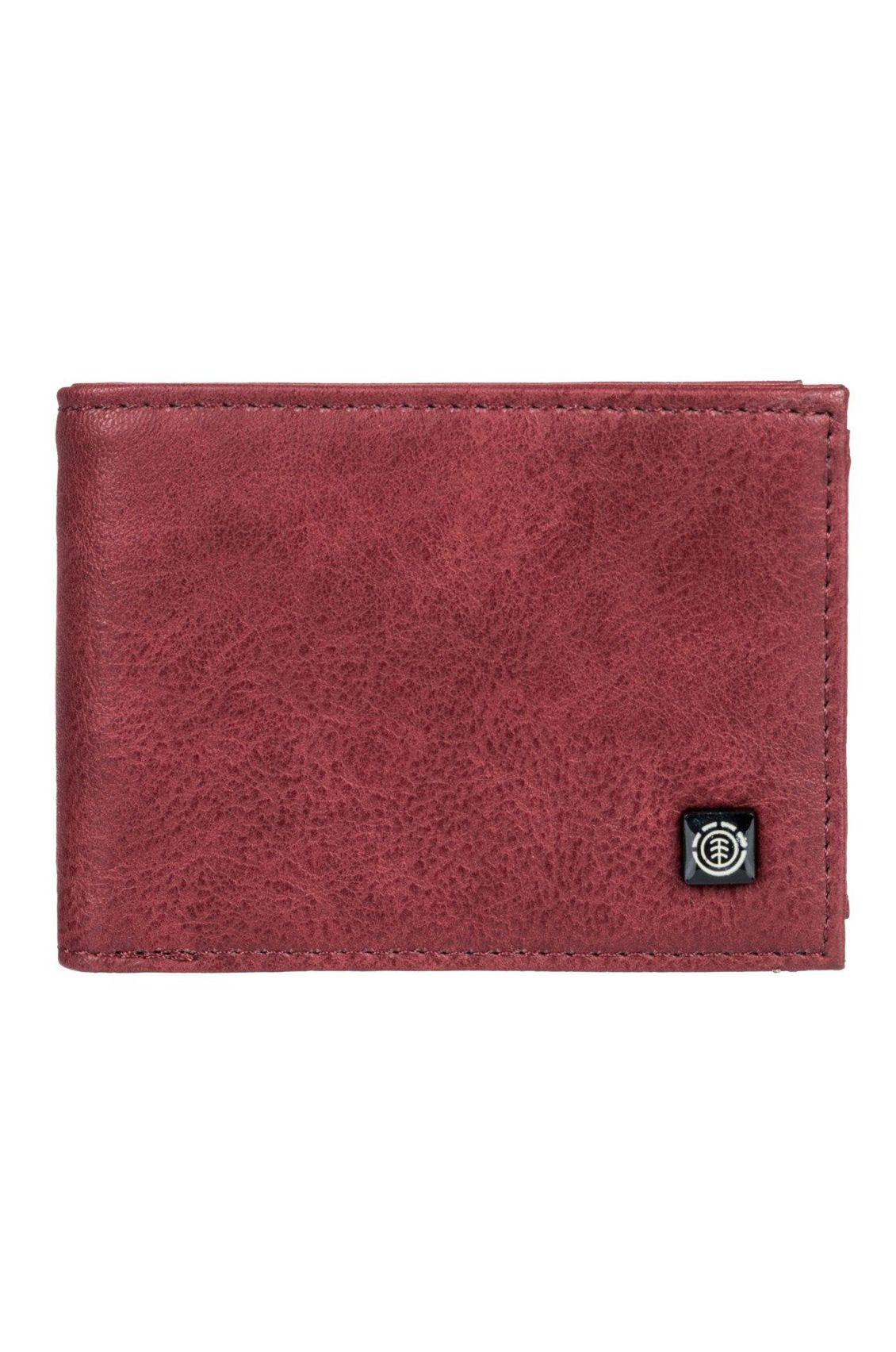 Element Wallet PU  SEGUR Vintage Red