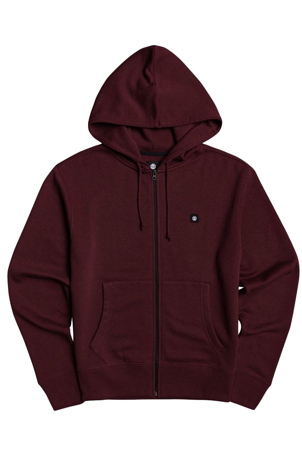Element Sweat Zip Hood 92 ZH Vintage Red