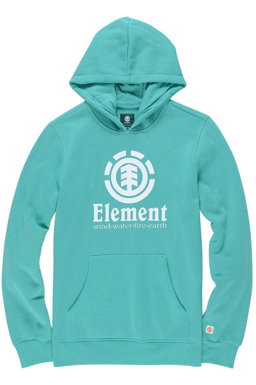 Sweat Capuz Element VERTICAL FOUNDATION Dynasty Green