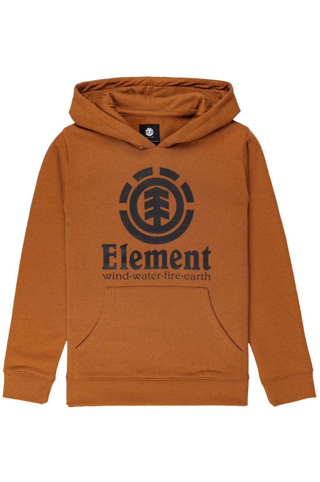 Element Sweat Hood VERTICAL HOOD BOY Glazed Ginger