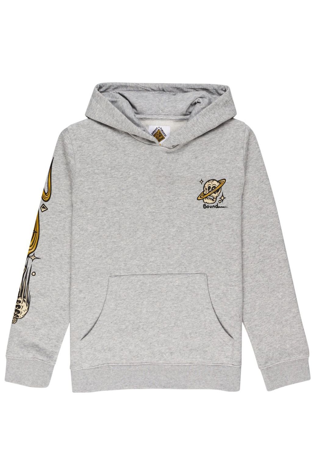 Element Sweat Hood TRANSENDER HOOD YOUT TIMBER COLLECTION Grey Heather
