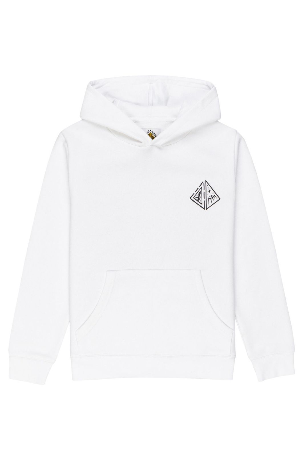 Element Sweat Hood ELLIPTICAL HD YOUTH TIMBER COLLECTION Optic White