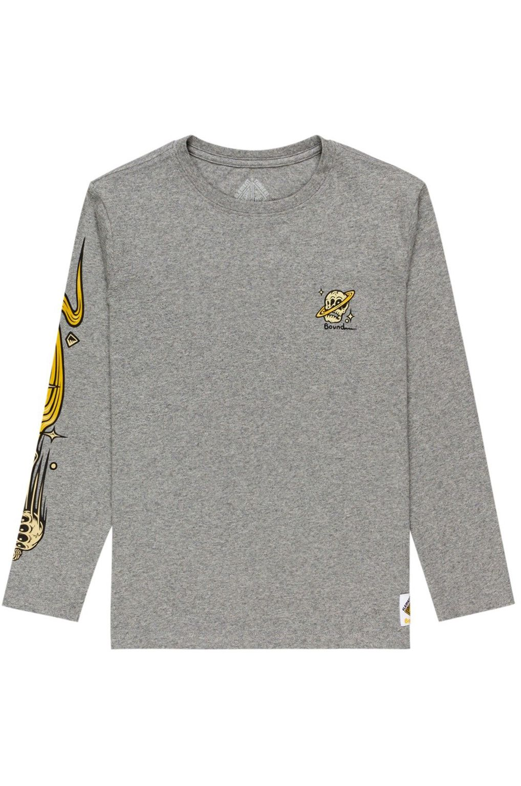 L-Sleeve Element TRANSENDER LS YOUTH TIMBER COLLECTION Grey Heather