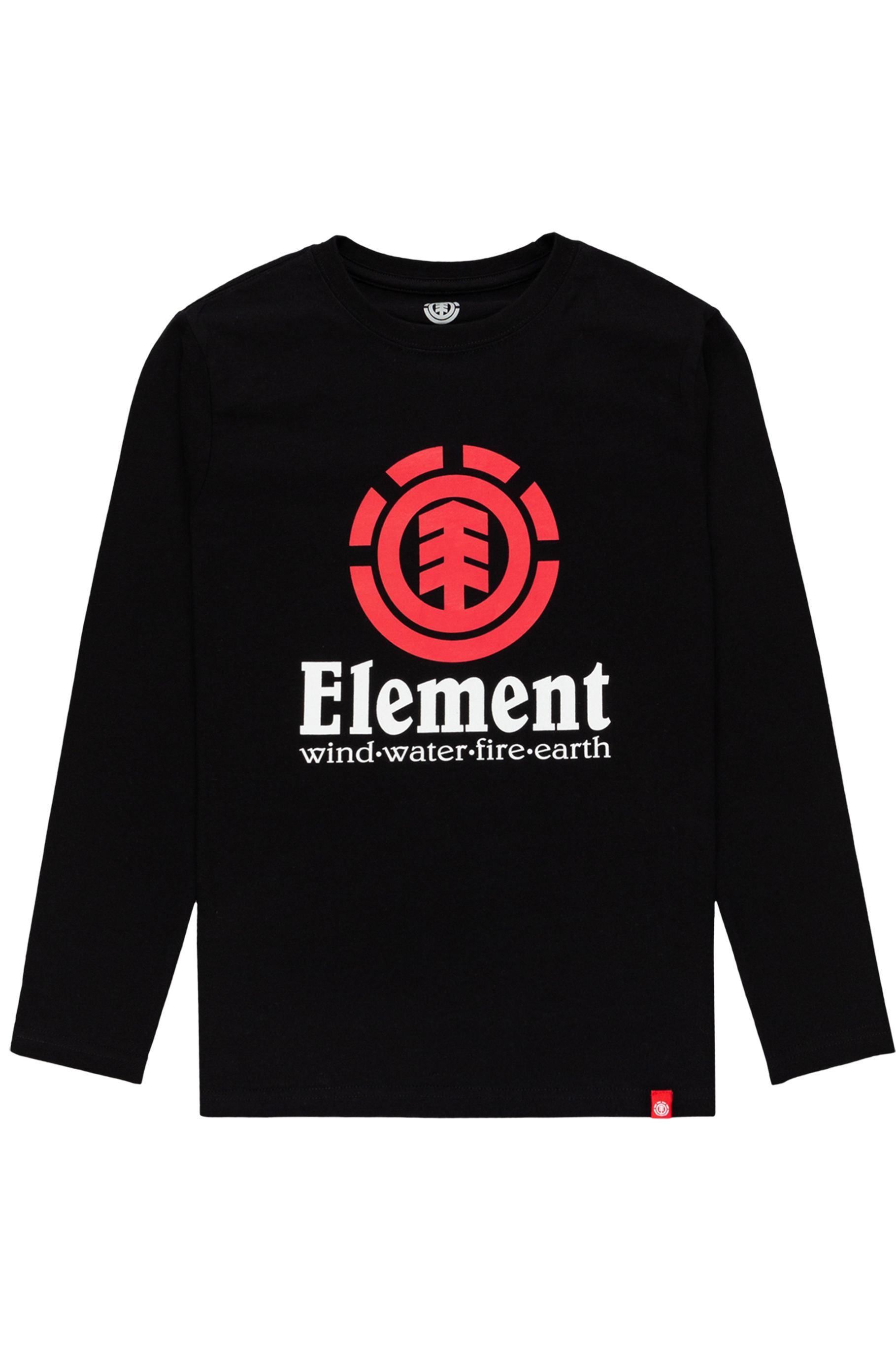 Element L-Sleeve VERTICAL LS YOUTH Flint Black