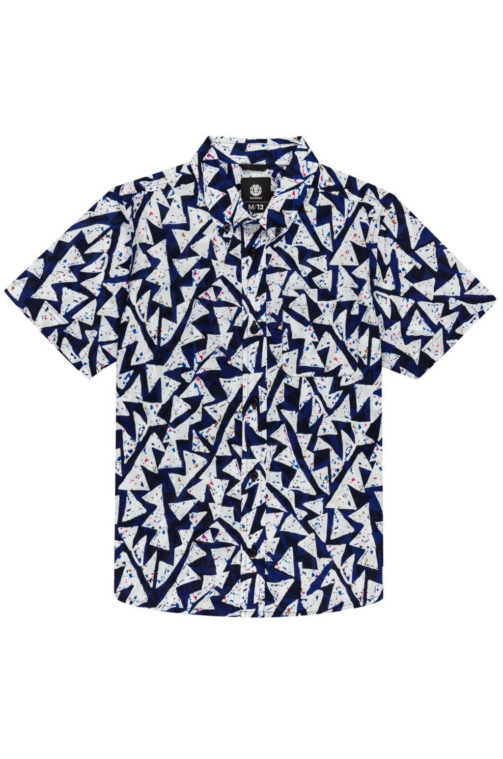 Camisa Element RISE SS BOY FUTURE NATURE Blue Ridge