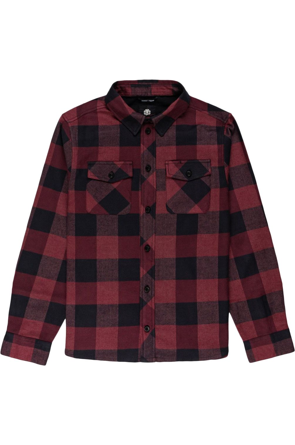 Camisa Element TACOMA 2 YOUTH Vint Red Heather