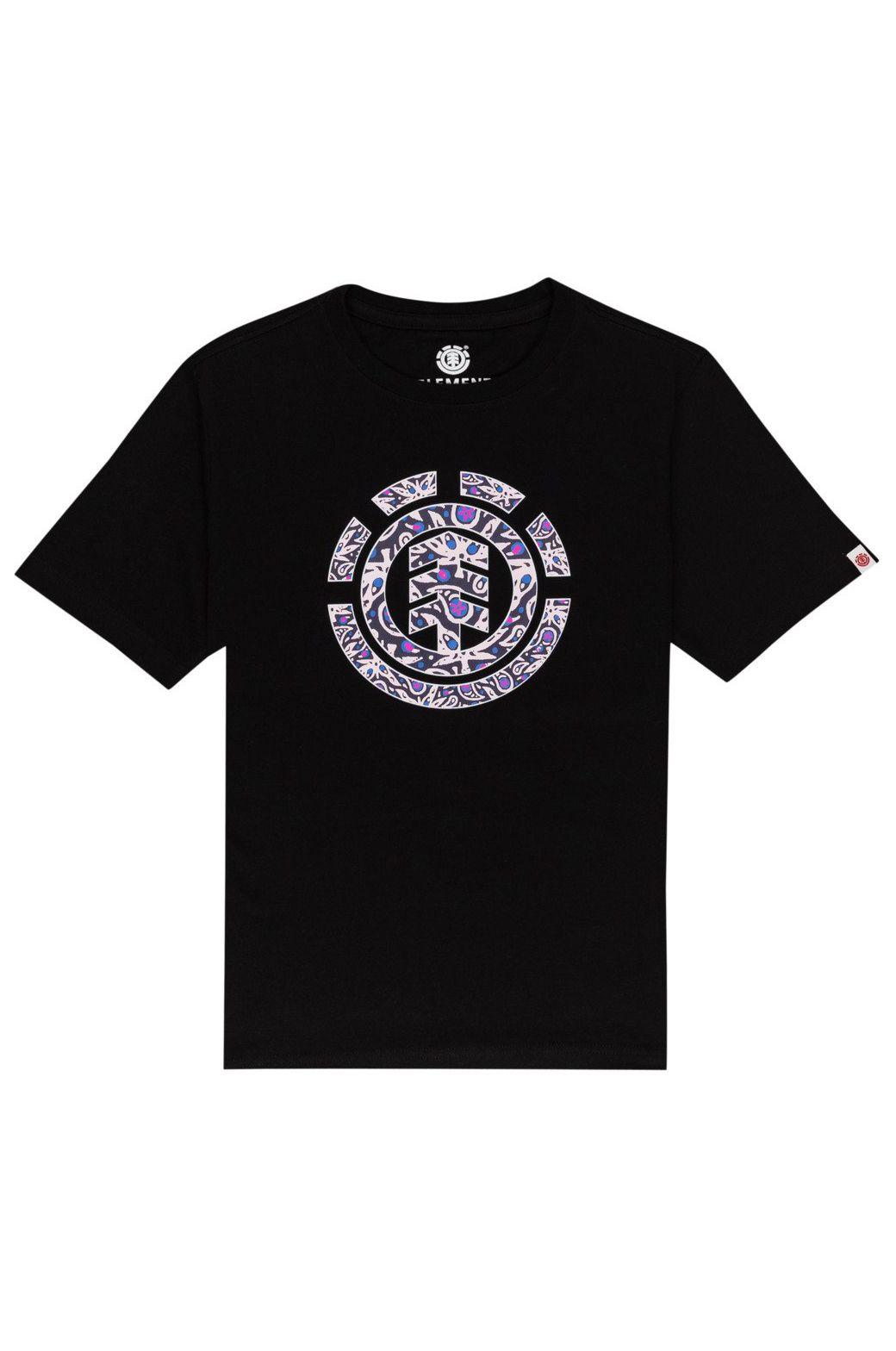 Element T-Shirt MAPLE ICON SS BOY Flint Black