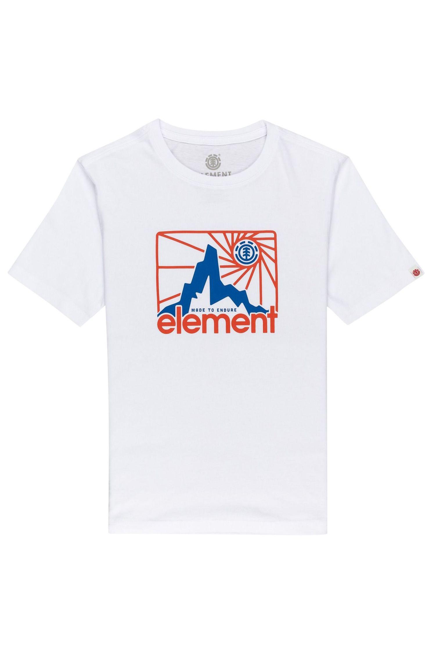 Element T-Shirt CRUZEN SS BOY SPORTING GOOD PROGR. Optic White