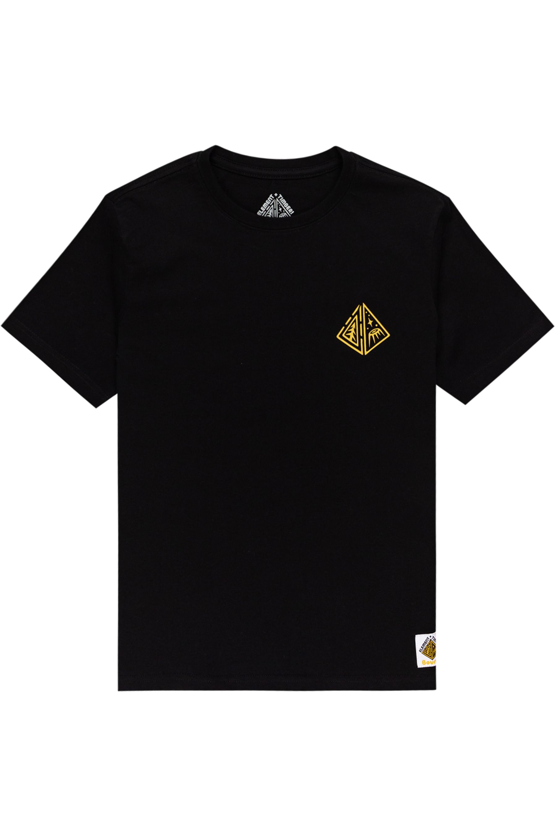 Element T-Shirt ACCEPTANCE SS YOUTH TIMBER COLLECTION Flint Black