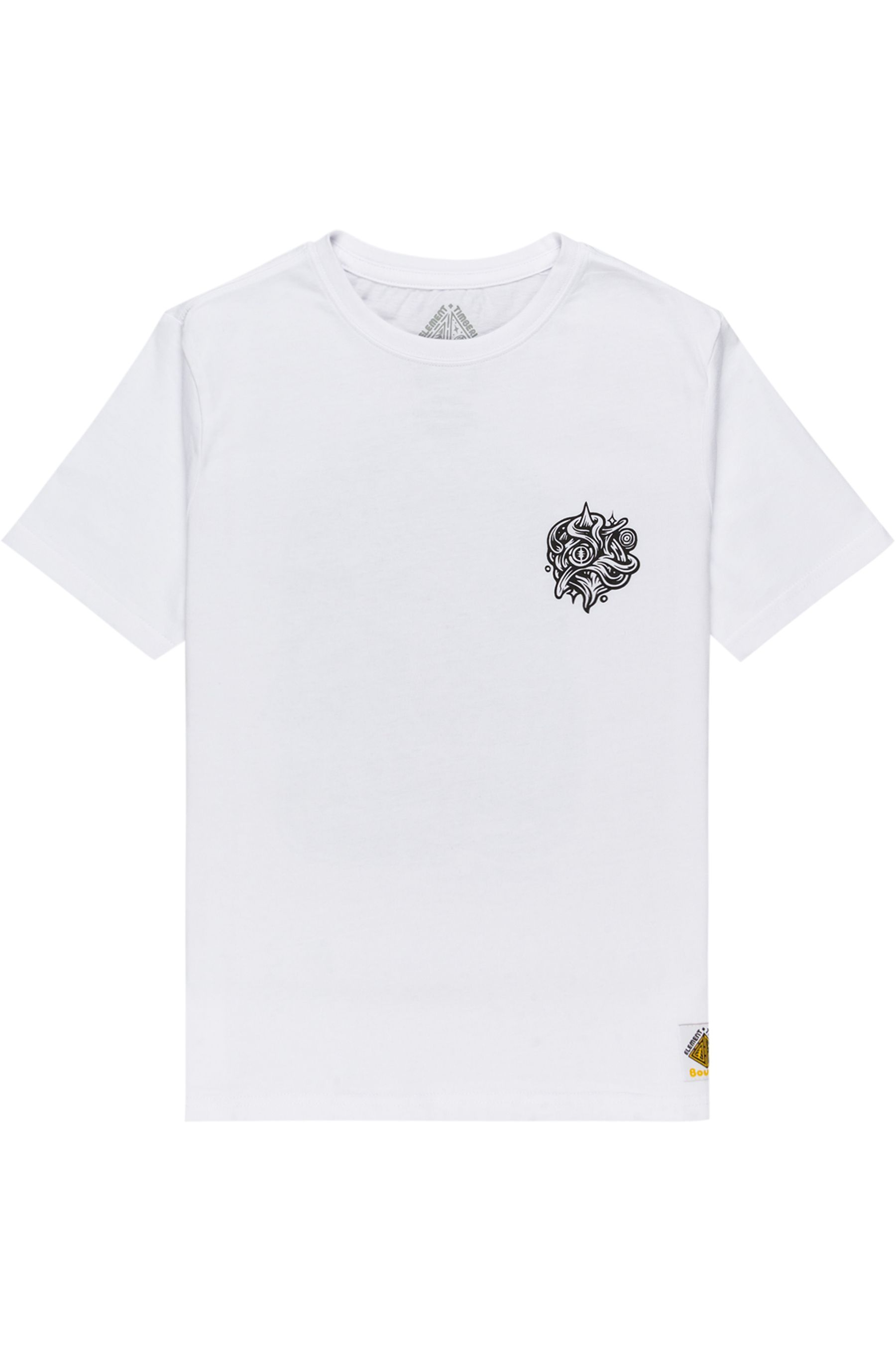 Element T-Shirt REASONING SS YOUTH TIMBER COLLECTION Optic White