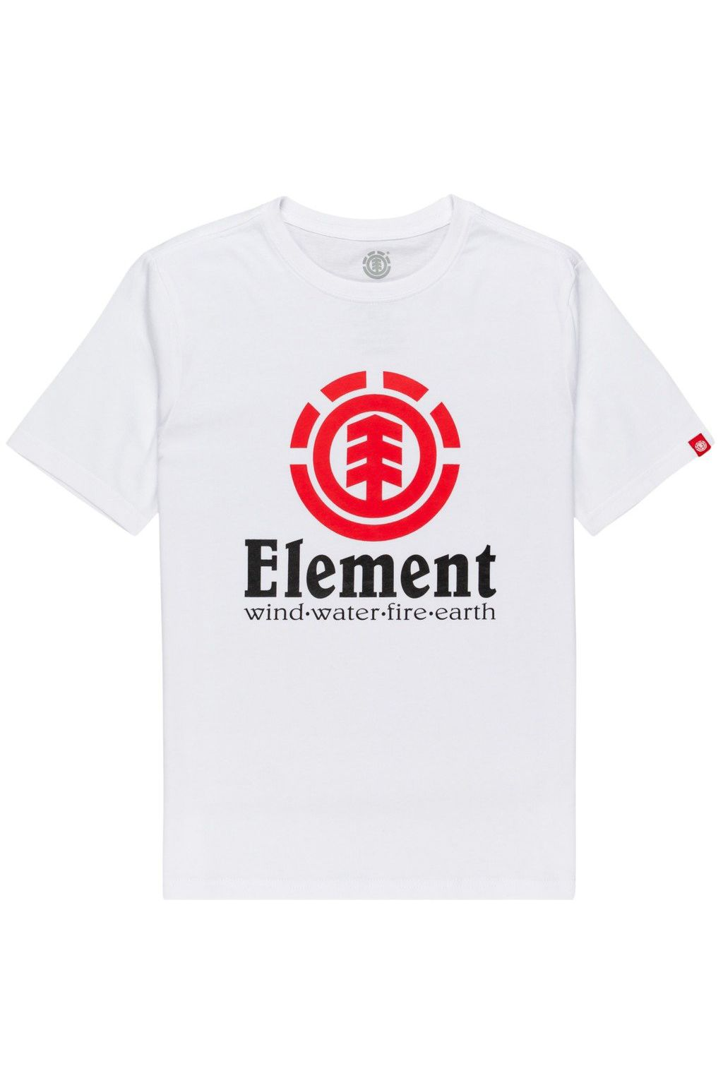 Element T-Shirt VERTICAL SS YOUTH Optic White