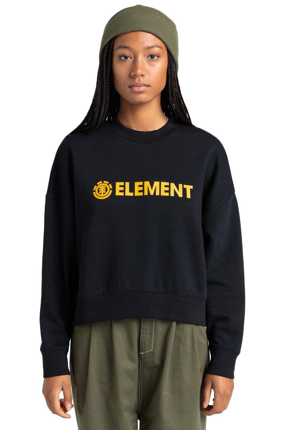 Sweat Basica Element LOGIC CREW W Flint Black