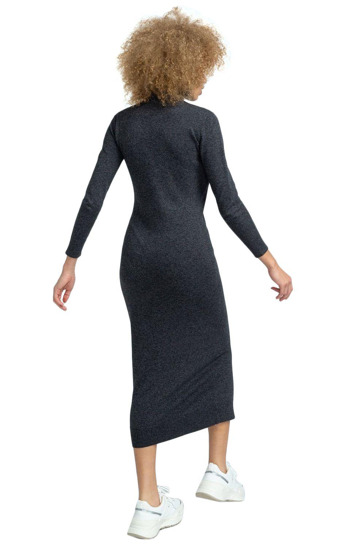 Vestido Element JENNI SWEATER DRESS Charcoal Heather