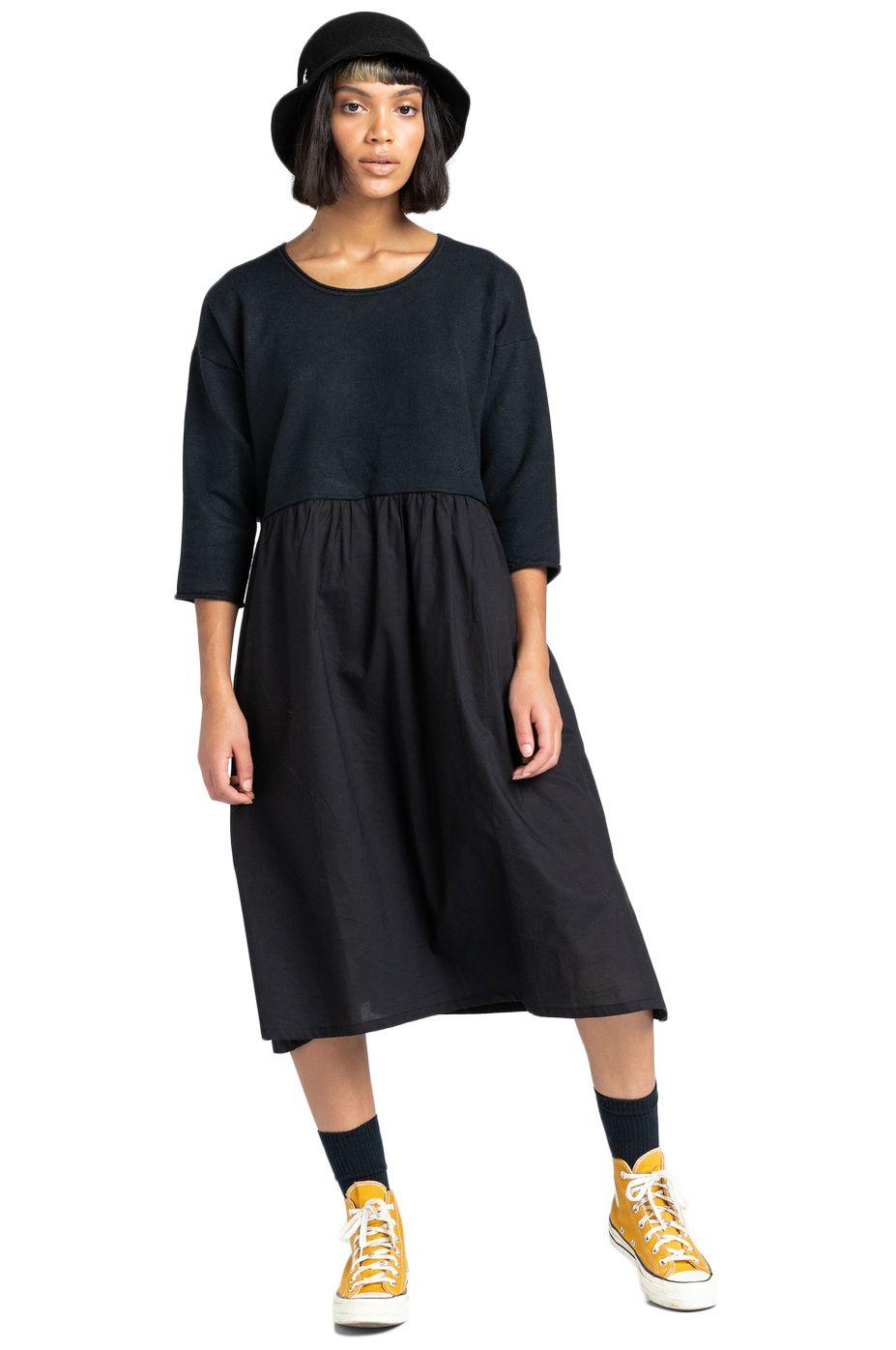 Element Dress TEMPETE DRESS Black