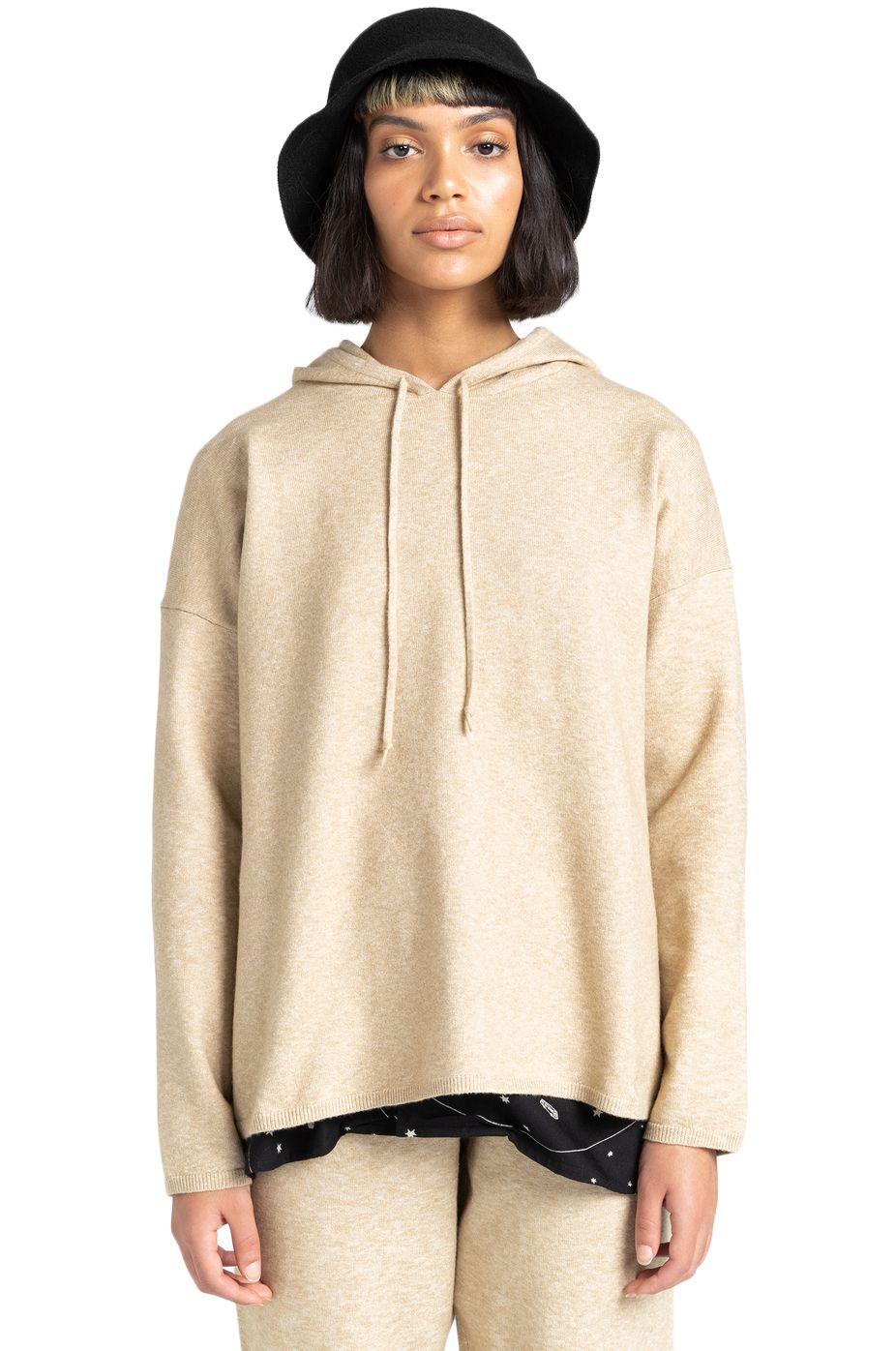 Element Sweater EIKEN HOOD Desert Khaki
