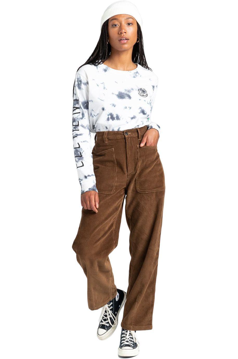 Element Pants KIRUNA CORD PANT Teak