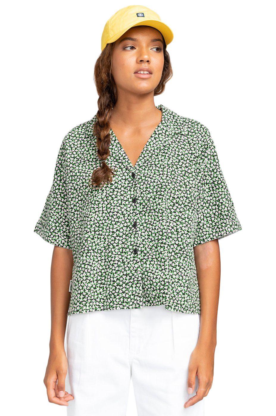 Element Shirt JAVA CTNC White Wildflower