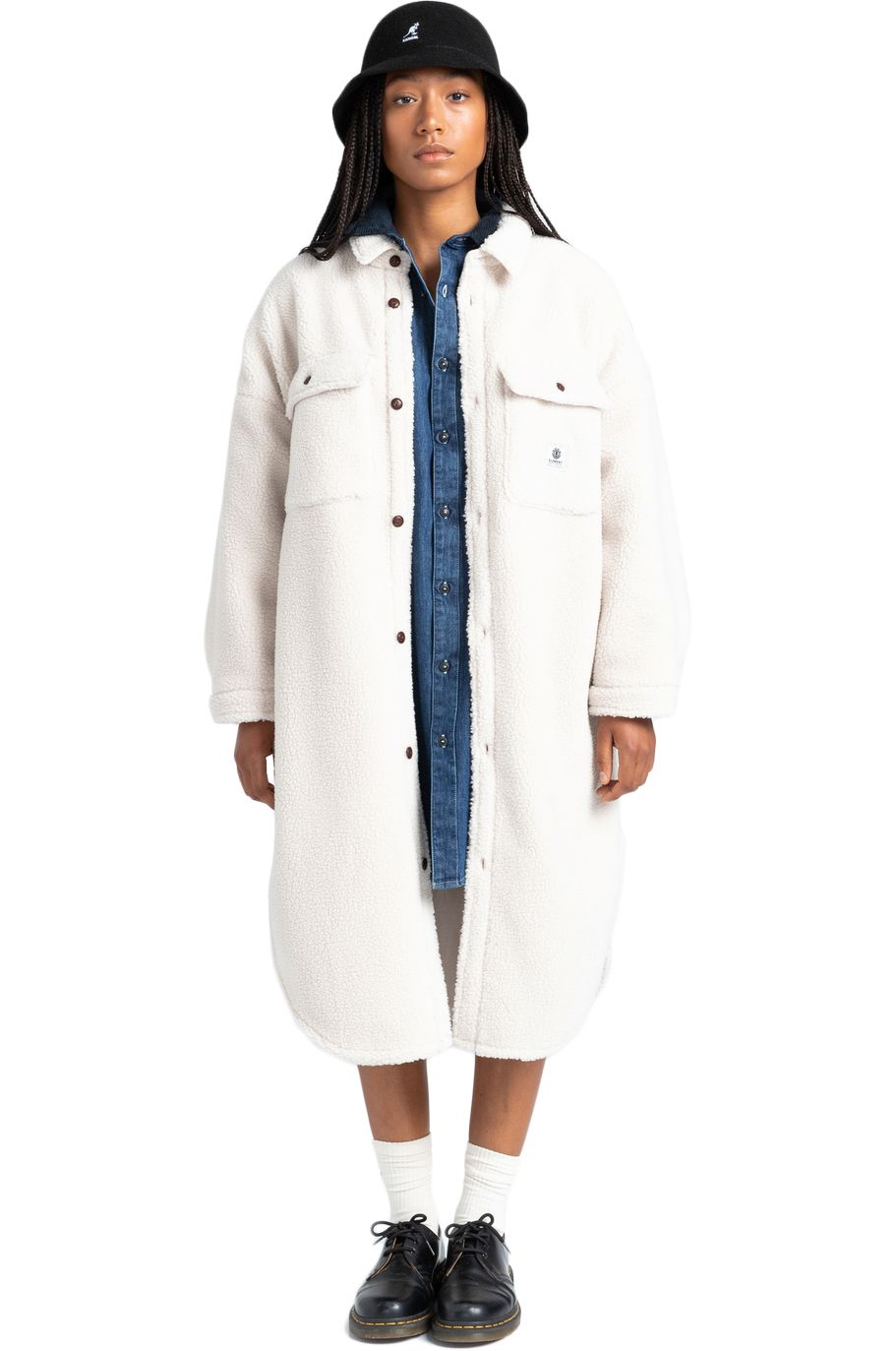 Element Shirt MANITOBA PILE SHIRT Natural