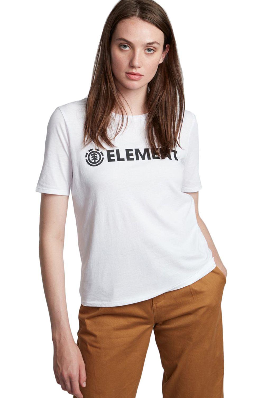 Element T-Shirt ELEMENT LOGO CR White