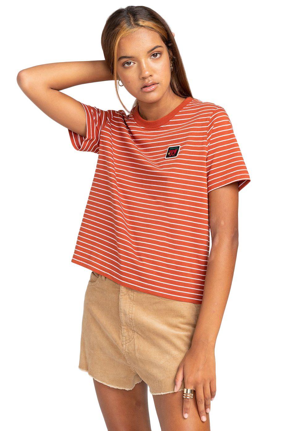Element T-Shirt PAULA SS CR Picante