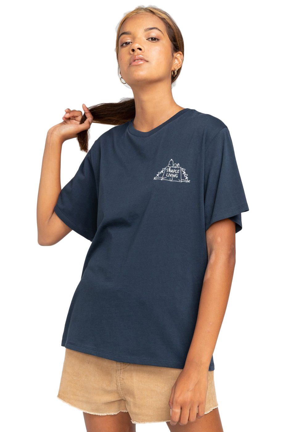 Element T-Shirt PEANUTS SIMPLE LIVIN PEANUTS Eclipse Navy